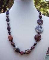 Asymetrical Jasper Necklace
